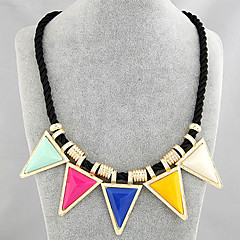 Personality Triangle Necklace