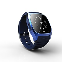 rwatch Smartwatch portable m26, le contrôle des médias / des appels mains libres / podomètre / anti-perte pour android / ios