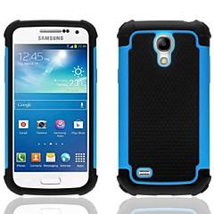 2 az 1-ben kialakítás hatszög minta kemény tok szilikon borító belső Samsung Galaxy S4 mini i9190