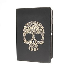 Flower Skull Pattern PU Leather and Plastic Cover Full Body Case for Samsung Note Pro 12.2 P900