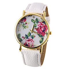 Women's Watch Fashion Flower Pattern