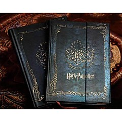 vintage magic notebook Harry Deník si hard cover plánovač agenda notepad \\