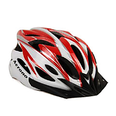 ACRONO 22 Vents Red White Integrally-molded Cycling Helmet(57-62cm)