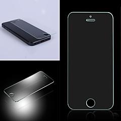 2.5D Premium Härdat glas Skärmskyddsfilm till iPhone5/5S/5C