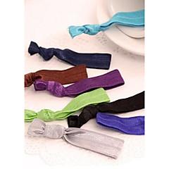 Düğümlü Bilezik Elastik Saç Kravatlar