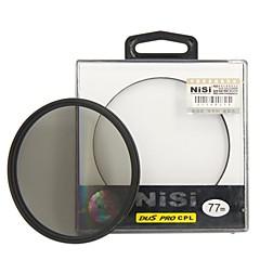 NiSiを77ミリメートルプロCPL超薄型円偏光レンズフィルター