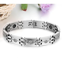 Titanium Steel Men Care Magnetic Bracelet Anti-fatigue Radiation Protection Jewelry
