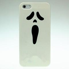 Dure de cas modèle de visage embarrassé pour iPhone 5/5S