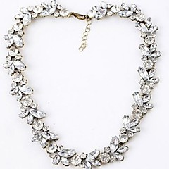 Lureme®Grain Diamond  Clavicle Necklace