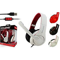 Auriculares Ovleng Q8 Super Bass USB