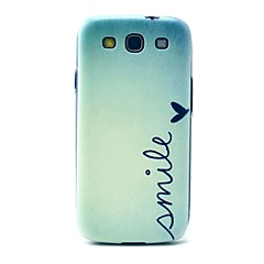 Smile Heart Pattern Hard Case Cover for Samsung Galaxy S3 I9300