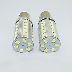 1156 3w 36x2835smd 250-300lm luz blanca bombilla led para coche (12V DC, 2 unidades)