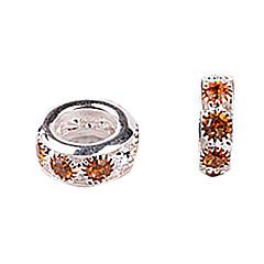 Gold Rhinestone DIY Beads for Bracelet & Necklace