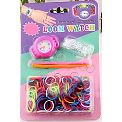Z&X®  Loom Watchd DIY Rainbow Weaving Rubber Band Watch Suits
