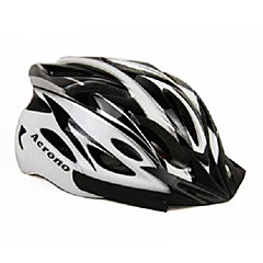 ACRONO 22 Vents Black White Integrally-molded Cycling Helmet(57-62cm)
