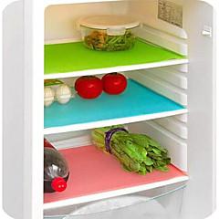 colchoneta color puro 4pcs plástico refrigerador (color clasificado)