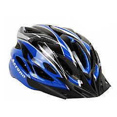 ACRONO 22 Vents Blue Green Integrally-molded Cycling Helmet(57-62cm)