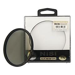 nisi 77mm pro mc cpl plusieurs revêtu filtre circulaire de l'objectif de polariseur