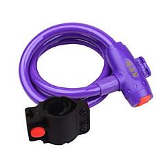YELVQI Mountain Bike Purple Anti-Theft Wire Lock
