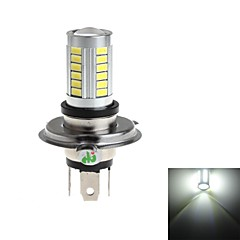 HJ  H4 8W 800lm 6000-6500K 33*SMD 5730  Bulb for Car Fog Light (DC 12-24V)
