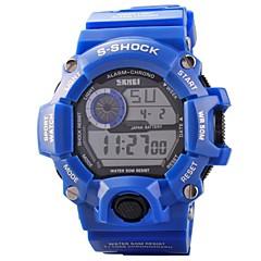 Skmei® Men Led Digital Outdoor Sports Multifunctional S-shock 30m Waterproof Wrist Watch  Cool Watch Unique Watch