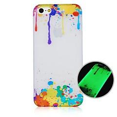 CaseBox ® Pintura a Óleo padrão de fluorescência após sunniness Hard Case Voltar para iPhone5/5S