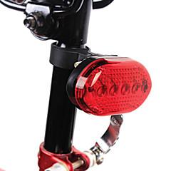 YELVQI 5LED rouge vélo de lumière de queue