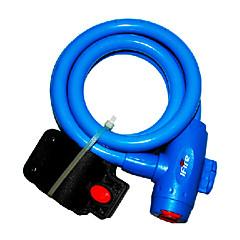 IFire de qualité en acier PVC + ABS Bleu Bike Lock vélos