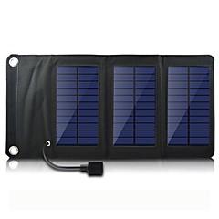 sortie USB 5V portable& pliage chargeur de panneau solaire pour iPhone6 / 6plus / S4 5s samsung / 5 HTC et autres appareils mobiles