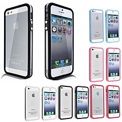 vormor® pare-chocs TPU étui souple transparent pour iphone 5 / 5s (couleurs assorties)