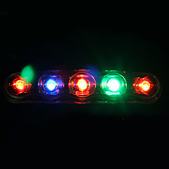 YELVQI Multi-color LED 7 Modes Warning Cycling Tail Light