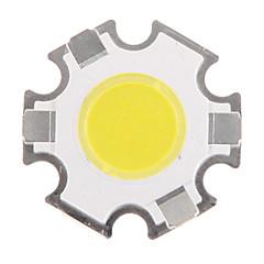 3W COB 280-320lm 6000-6500K Cool λευκό φως LED Chip (9-11V, 300uA)