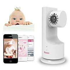 ibcam ip sieci bezprzewodowej w domu aparatu bezpieczeństwa WiFi dla dzieci z muzyką p2p grać dwukierunkową rozmowę