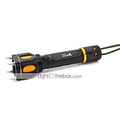 조명 LED손전등 / 손전등 LED 1000 루멘 5 모드 Cree XM-L T6 18650 조절가능한 초점 / 방수 / 충전식 / 충격 방지 / 슬립 방지 그립 / 스트라이크베젤캠핑/등산/동굴탐험 / 일상용 / 사이클링 / 사냥 / 멀티기능 /
