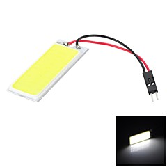 Marsing T10/Festoon 1-COB 8W 36-SMD LED 700lm White Light Car Katto Light / lukulamppu