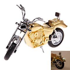briquets de modèle de moto d'or créatives pour collection ou de décoration jouets classiques