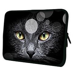 """elonno chat noir 7 """"néoprène de protection Housse de protection pour iPad 2 mini-1 / galaxie tab2 P3100 / Kindle HD d'incendie"""