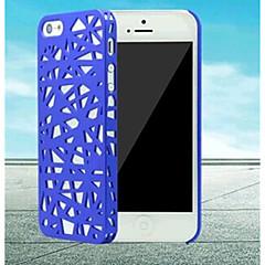 toophone ® ninho Joyland moda pássaro malha casos difíceis de proteção cobre para 5/5s iphone (cores sortidas)
