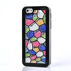luxo strass caso tampa traseira colorida para iPhone 5 / 5s (cores sortidas)
