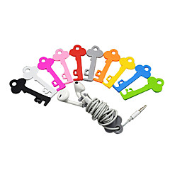 Key Style Earphones Cable Winder