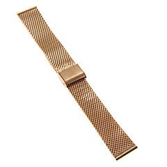 남성 여성 시계 밴드 스테인레스 스틸 #(0.047) #(16.5 x 2 x 0.3) 시계 악세서리