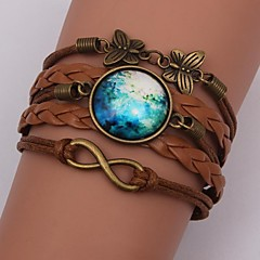 Eruner®Handmade Fashion Women's Pretty  Galaxy  Cosmic  Moon Bracelets inspirational bracelets Jewelry