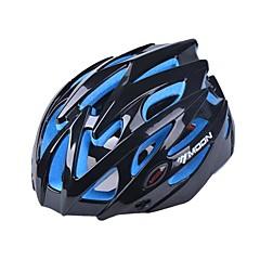 MOON Kadın's Erkek Unisex Bisiklet Kask 25 Delikler BisikletBisiklete biniciliği Dağ Bisikletçiliği Yol Bisikletçiliği Eğlence