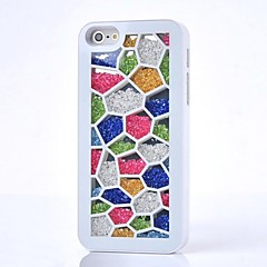LUXURY Rhinestone Colorful Back Cover Case for iPhone 4/4S(Assorted Colors)