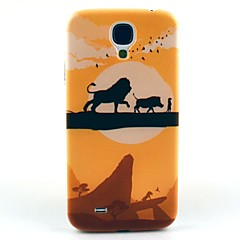 Lion Walking Hard Case Cover for Samsung Galaxy S4 I9500