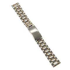 גברים נשים רצועות שעון פלדת אל חלד #(0.047) #(16.5 x 1.8 x 0.3) אביזרי שעון