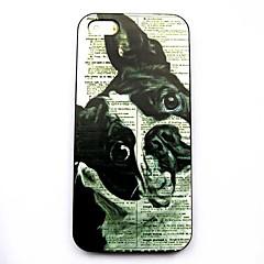 caso duro del patrón del perro de los animales para el iphone 5 / 5s