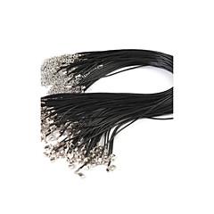 40cm moda negro accesorios de bricolaje joyas (10 pc)
