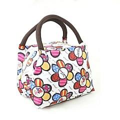 aislamiento portátil cajas de almuerzo de picnic paquete de bolsas de tela oxford de color al azar