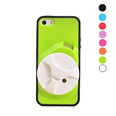 Special Design Soft Case with Headphone Winder for iPhone 5/5S(Assorted Colors)